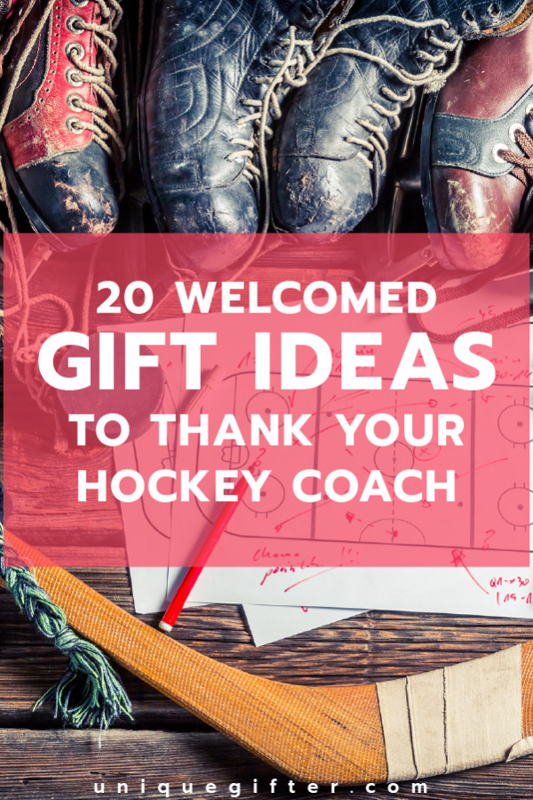 Thank You Coach Gift Ideas  20 Wel ed Gifts to Thank Your Hockey Coach Unique Gifter