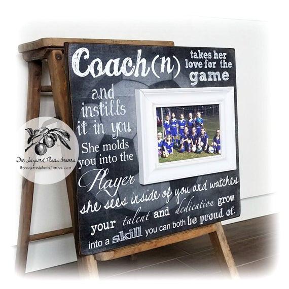 Thank You Coach Gift Ideas  Coach Gift Soccer Coach Gift Coach Thank You Gift Coach