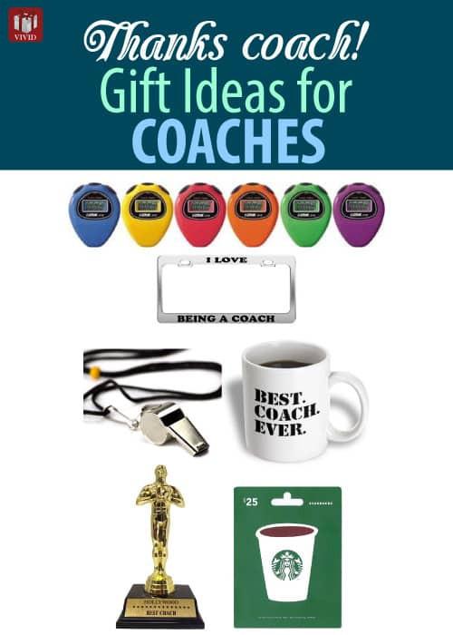 Thank You Coach Gift Ideas  Thank You Coach Gifts