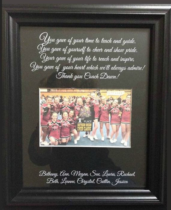 Thank You Coach Gift Ideas  25 best ideas about Cheer Coach Gifts on Pinterest