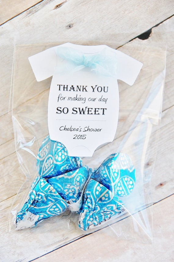 Thank You Gift Ideas For Baby Shower Guests  Thank You For Making Our Day So Sweet Baby Shower Favor Tags