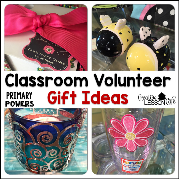 Thank You Gift Ideas For Volunteers  Primary Powers Volunteer Gift Ideas and FREEBIE Thank You