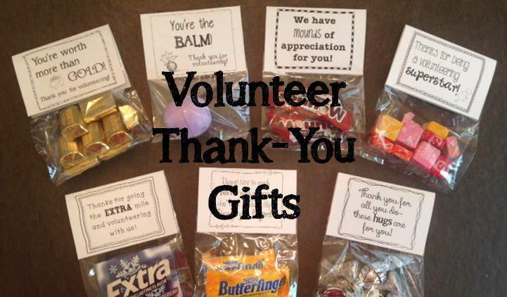 Thank You Gift Ideas For Volunteers  Volunteer Thank You Gifts Sprout Classrooms