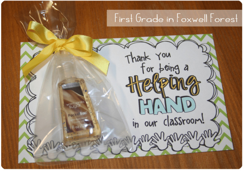 Thank You Gift Ideas For Volunteers  Classroom Volunteer Appreciation Gifts 12 Ways to Thank