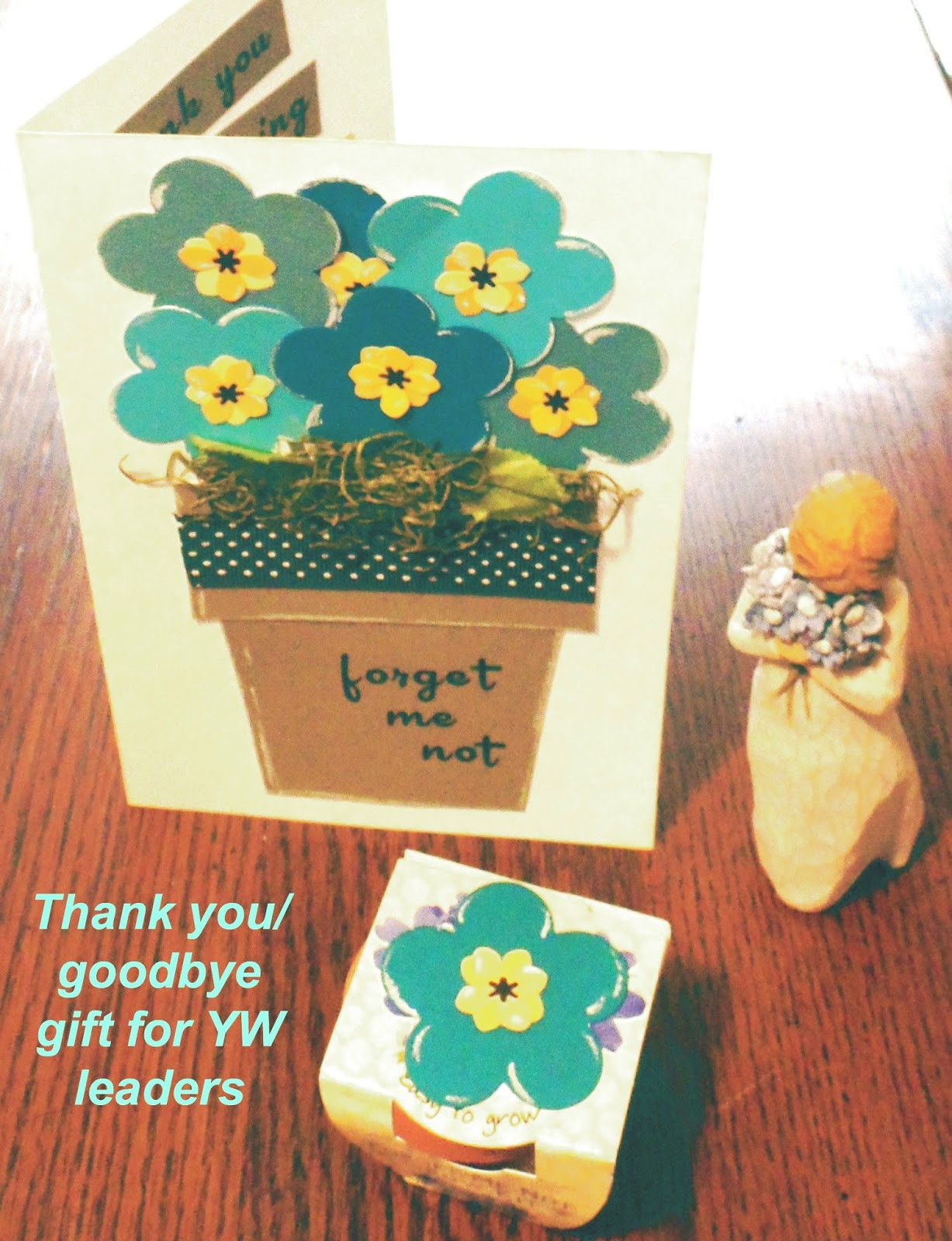 Thank You Gift Ideas For Women  The Jolly Rogers Young Women Blog Goodbye thank you