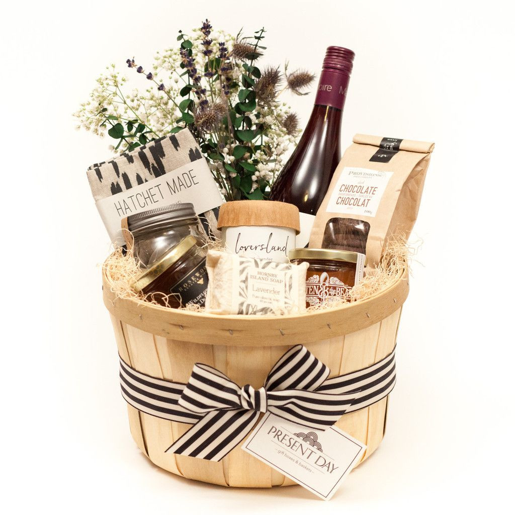 Thank You Gift Ideas For Women  LOCAL GOODS BASKET Pick Your Size