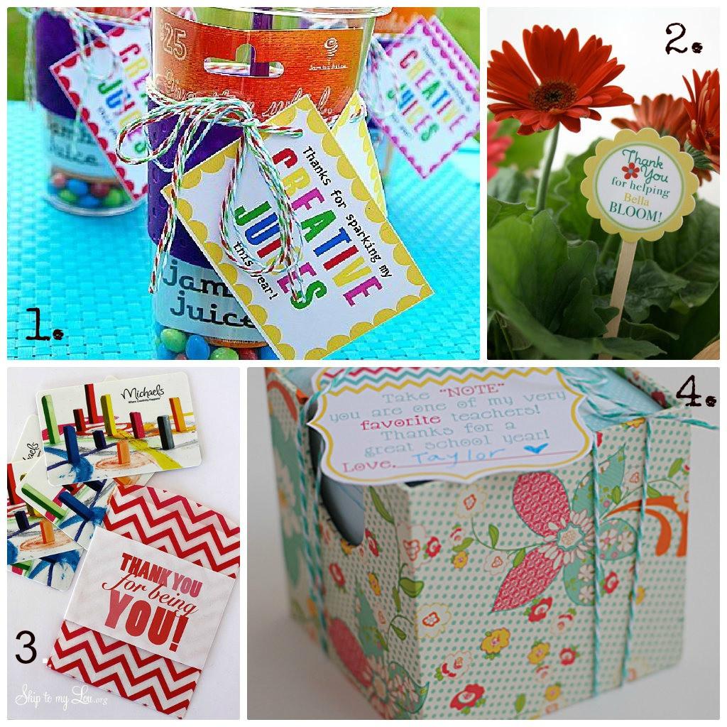 Thank You Teacher Gift Ideas  50 t ideas to thank a teacher