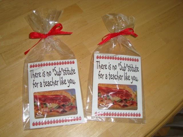 Thank You Teacher Gift Ideas  The Creative Homemaker Teacher Thank You Appreciation