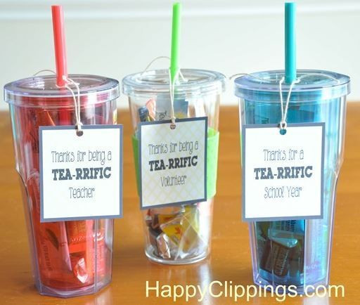 Thank You Teacher Gift Ideas  Thank You Gift Ideas for Volunteers