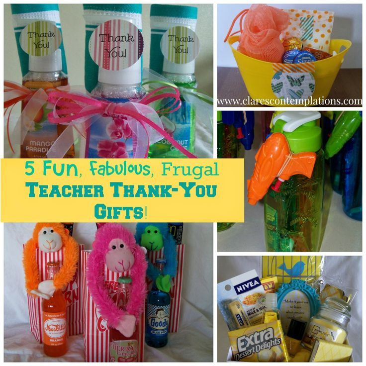 Thank You Teacher Gift Ideas  1000 images about Provider Appreciation on Pinterest