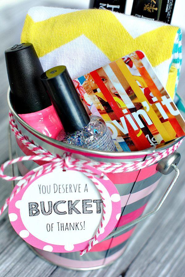 Thank You Teacher Gift Ideas  Best 25 Thank you t baskets ideas on Pinterest