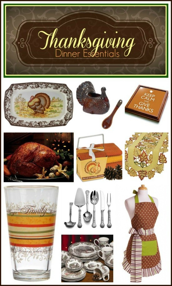 Thanksgiving Day Gift Ideas  Thanksgiving Hostess Gift Ideas and Dinner Essentials In