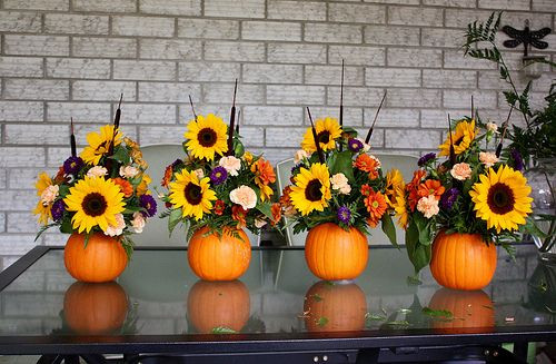 Thanksgiving Flower Arrangement Ideas  5 Fun Fall Bouquet Ideas