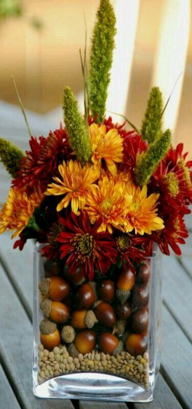 Thanksgiving Flower Arrangement Ideas  Best 25 Thanksgiving centerpieces ideas on Pinterest