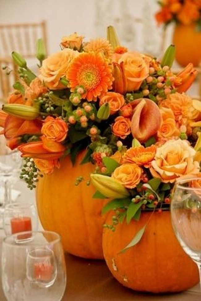 Thanksgiving Flower Arrangement Ideas  thanksgiving floral centerpieces Archives Happy Holiday
