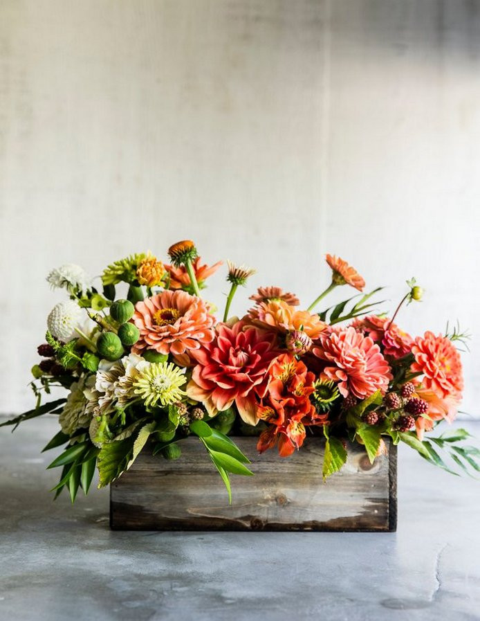 Thanksgiving Flower Arrangement Ideas  40 Beautiful Thanksgiving Flower Arrangements Garden