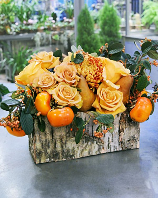 Thanksgiving Flower Arrangement Ideas  42 Amazing Flower Decorations For A Thanksgiving Table