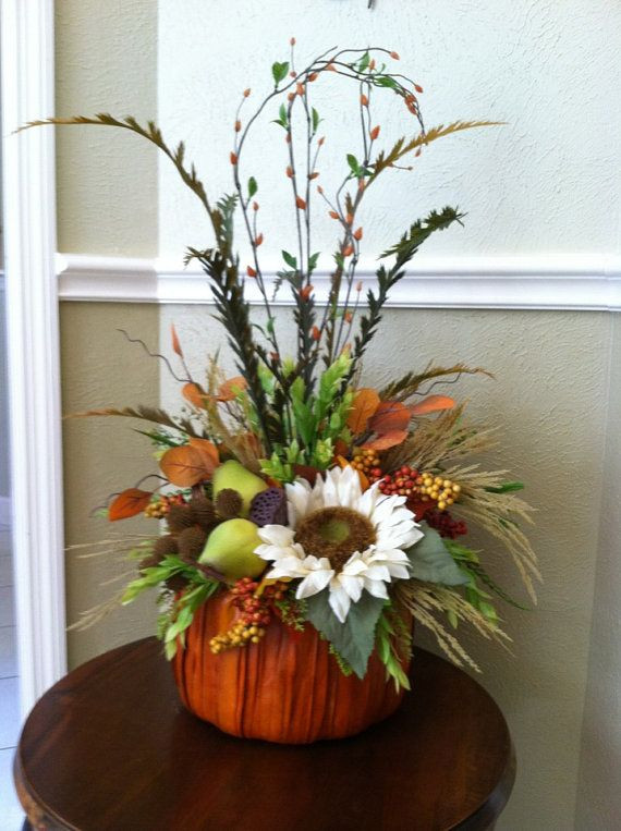 Thanksgiving Flower Arrangement Ideas  The 112 best images about flower arrangements on Pinterest