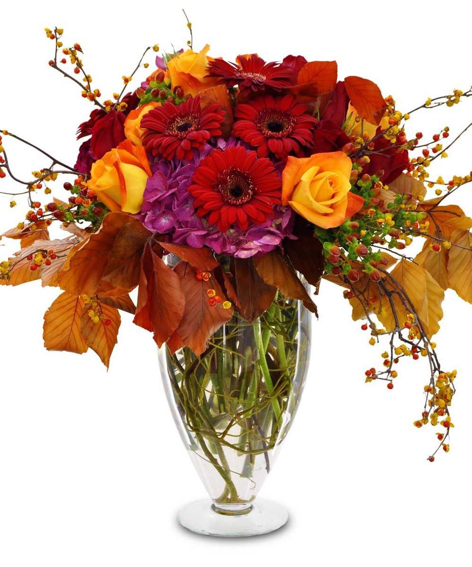 Thanksgiving Flower Centerpiece  Thanksgiving flower delivery San Diego