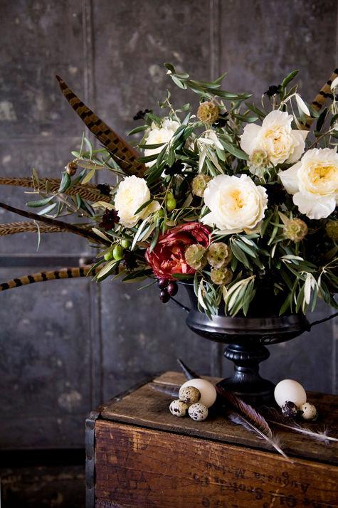Thanksgiving Flower Centerpiece  thanksgiving centerpiece ideas poppies & posies – Design