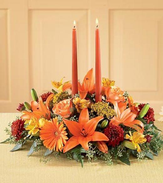 Thanksgiving Flower Centerpiece  Thanksgiving Flower Arrangements