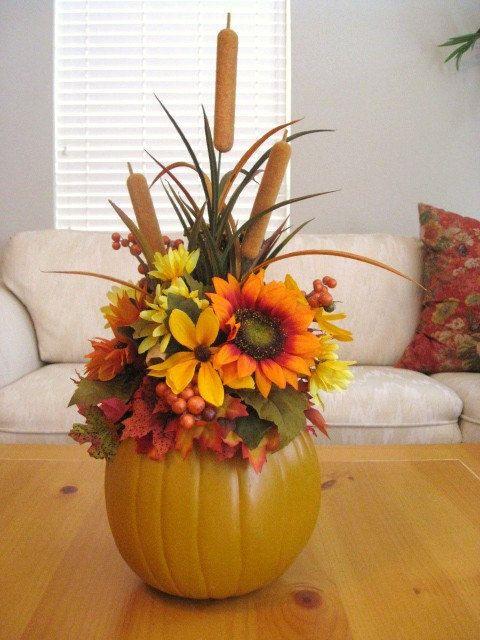 Thanksgiving Flower Centerpieces  17 Best ideas about Thanksgiving Centerpieces on Pinterest