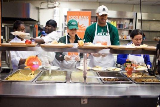 Thanksgiving Food Pantry  Real Life Church dinner Inhabitat – Green Design