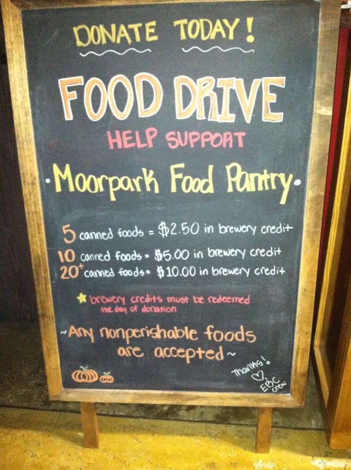 Thanksgiving Food Pantry  EBC Thanksgiving Food Drive Enegren Brewing Blog