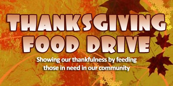 Thanksgiving Food Pantry  Thanksgiving Food Drive – now thru 11 15 16 – Brywood PTA