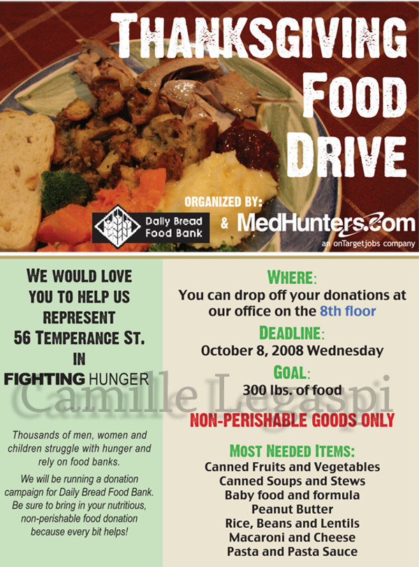Thanksgiving Food Pantry  25 Food Drive Flyer Designs PSD Vector EPS JPG