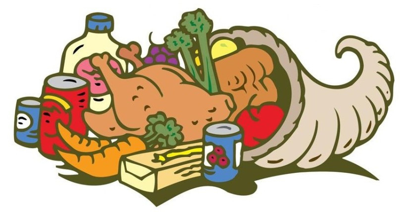 Thanksgiving Food Pantry  Food Drive Clip Art Clipartion