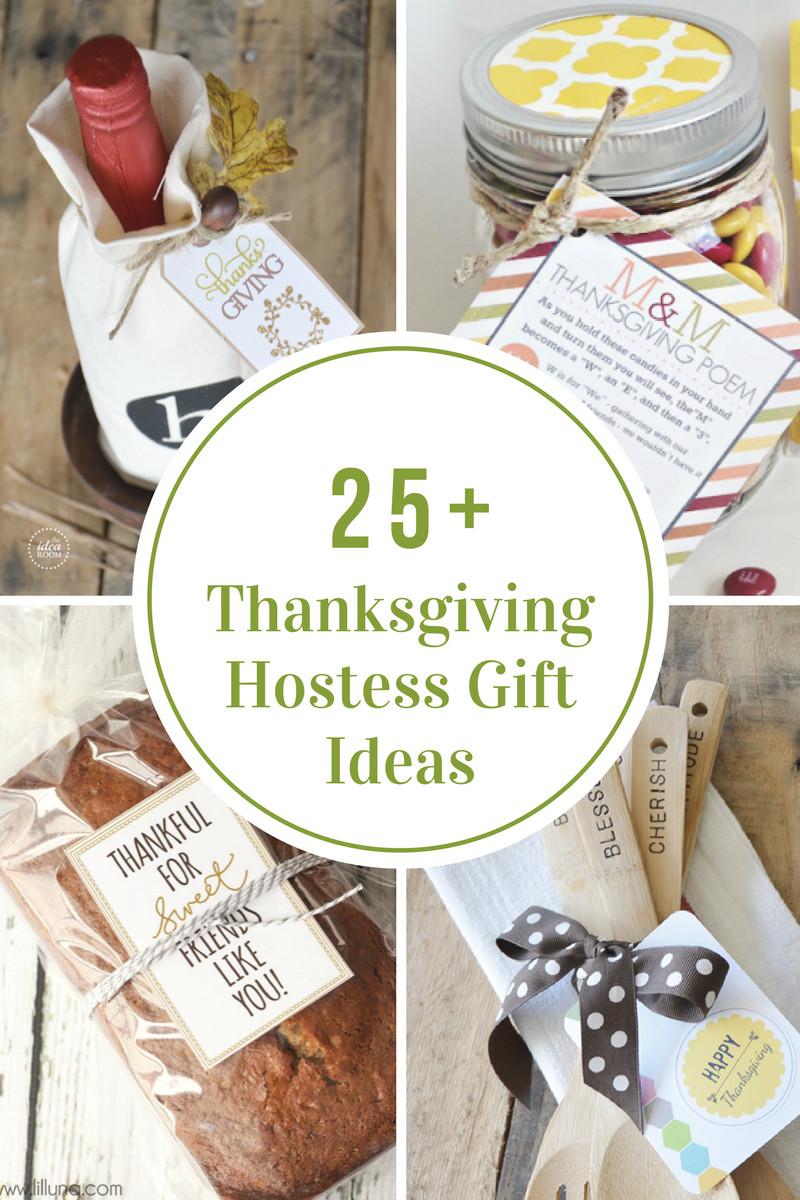 Thanksgiving Gift Ideas  Thanksgiving Hostess Gift Ideas The Idea Room