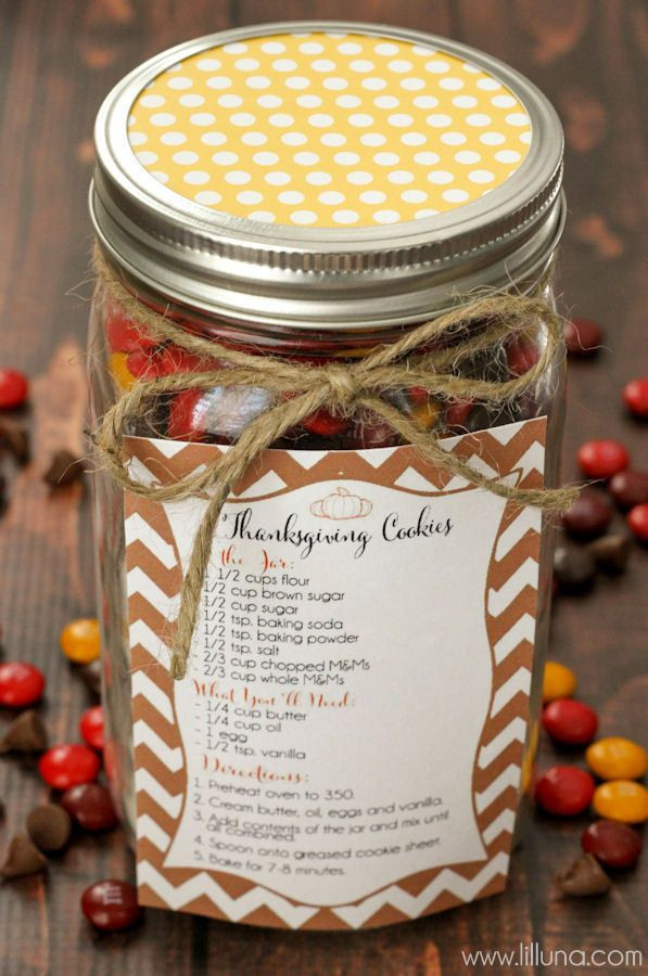 Thanksgiving Gift Ideas For The Family  Thanksgiving Cookie Jar Gift