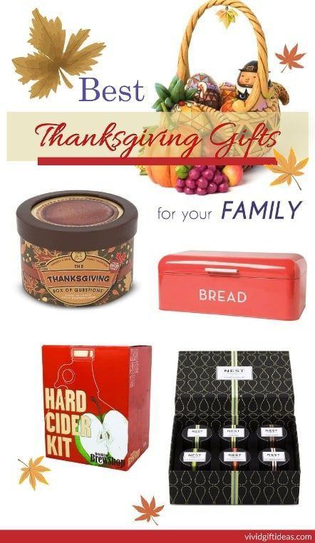 Thanksgiving Gift Ideas For The Family  2015 Thanksgiving Gift Guide for Family Vivid s