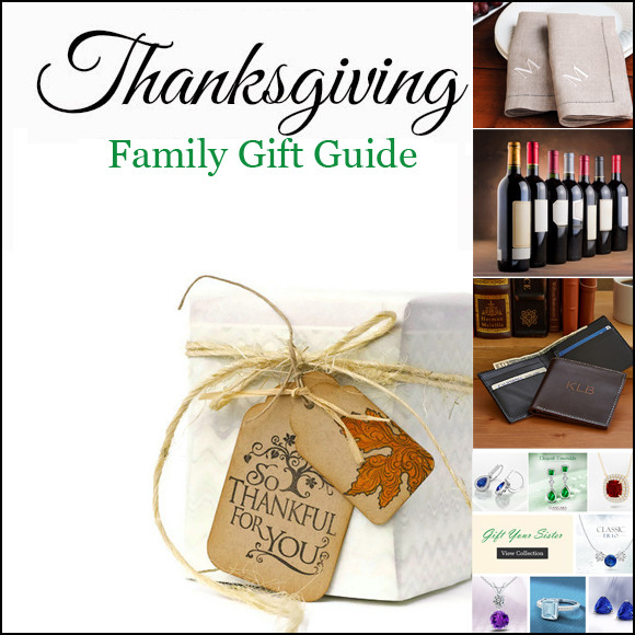 Thanksgiving Gift Ideas For The Family  Thanksgiving Gift Guide for Family