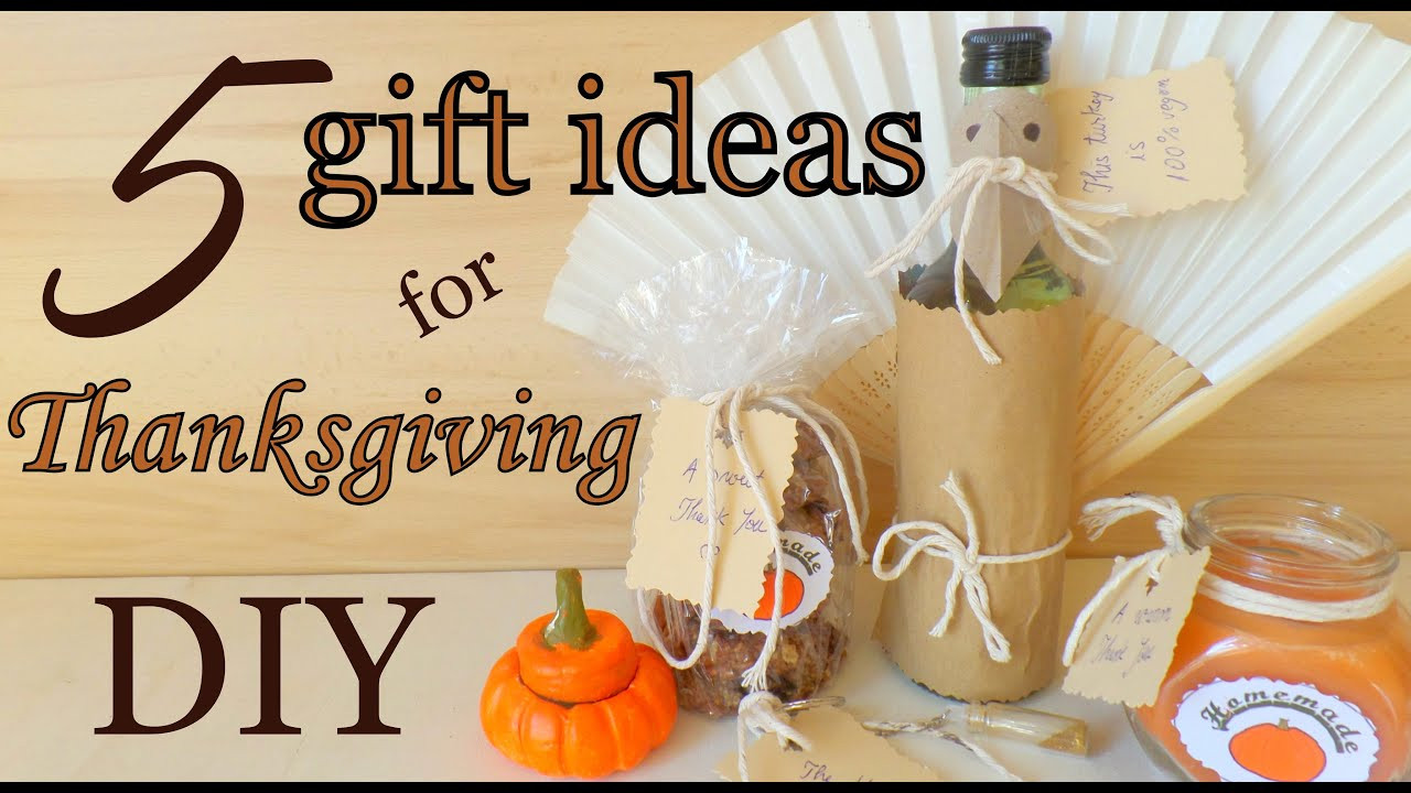 Thanksgiving Gift Ideas For The Family  DIY Thanksgiving Decorations & Treats