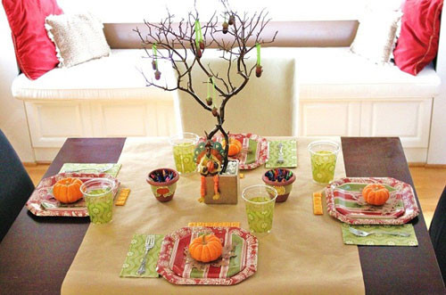 Thanksgiving Kids Table  Kids Thanksgiving Table Ideas Including Great Craft Projects