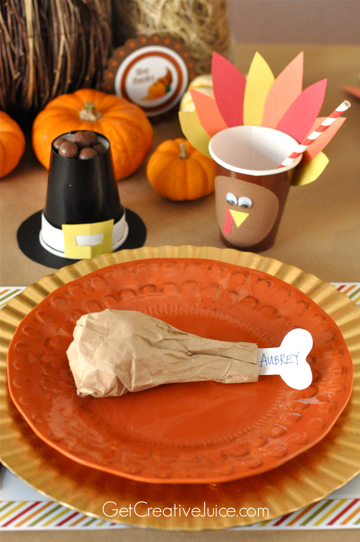 Thanksgiving Kids Table  Easy DIY Kids Thanksgiving Table Ideas Creative Juice