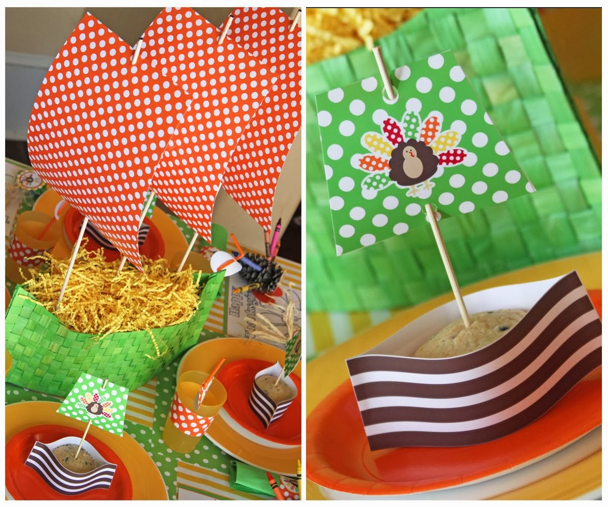 Thanksgiving Kids Table  Amanda s Parties to Go