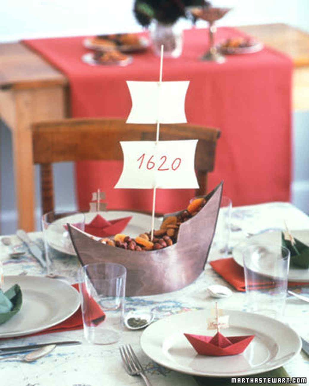 Thanksgiving Kids Table  Kids Tables Centerpiece