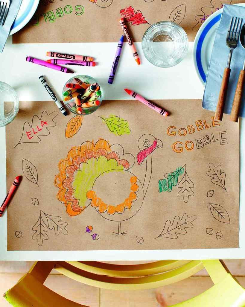 Thanksgiving Kids Table  The ultimate guide to last minute Thanksgiving day help