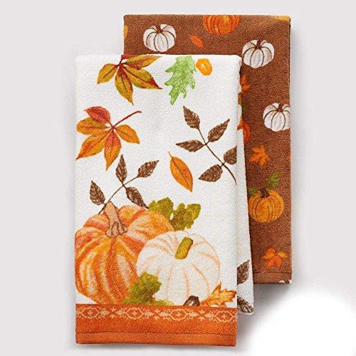 Thanksgiving Kitchen Towels  Thanksgiving Pumpkins Kitchen Towels