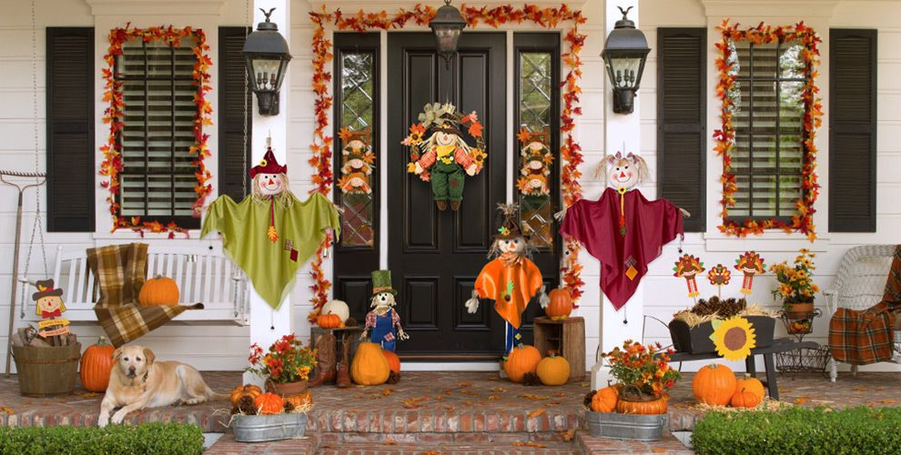 Thanksgiving Outdoor Decorations  Thanksgiving Outdoor Decorations Party City