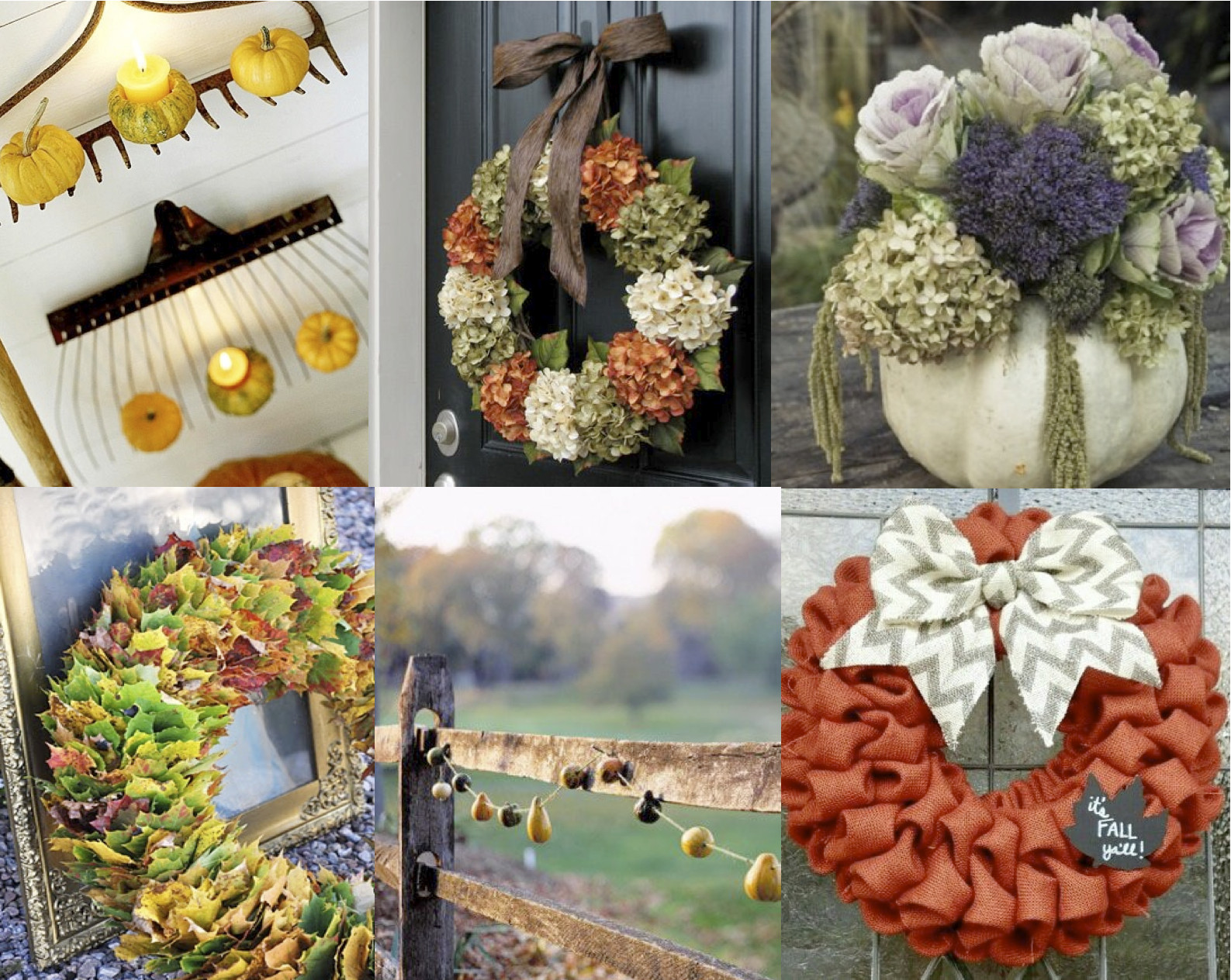 Thanksgiving Outdoor Decorations  Thanksgiving Decor Ideas