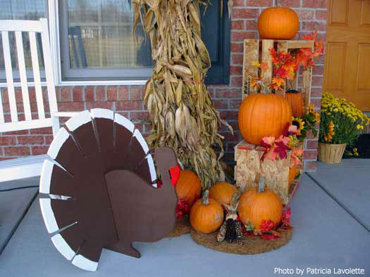 Thanksgiving Outdoor Decorations  Thanksgiving Decoration Ideas to Wel e Your Guests