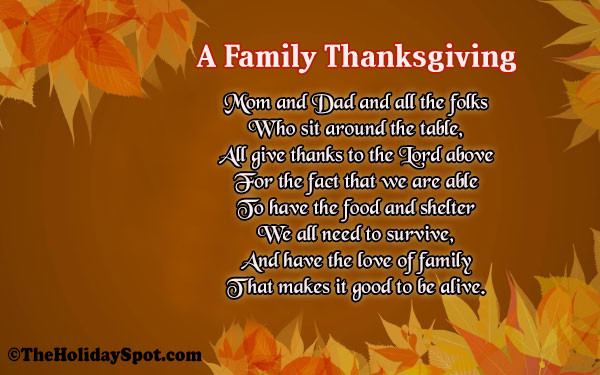 Thanksgiving Poems And Quotes  Thanksgiving Poems Short Poems on Thanksgiving