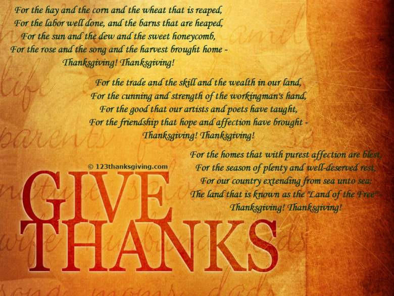 Thanksgiving Poems And Quotes  Thanksgiving Poems 2015 Top 10 Best Ideas & Happy Quotes