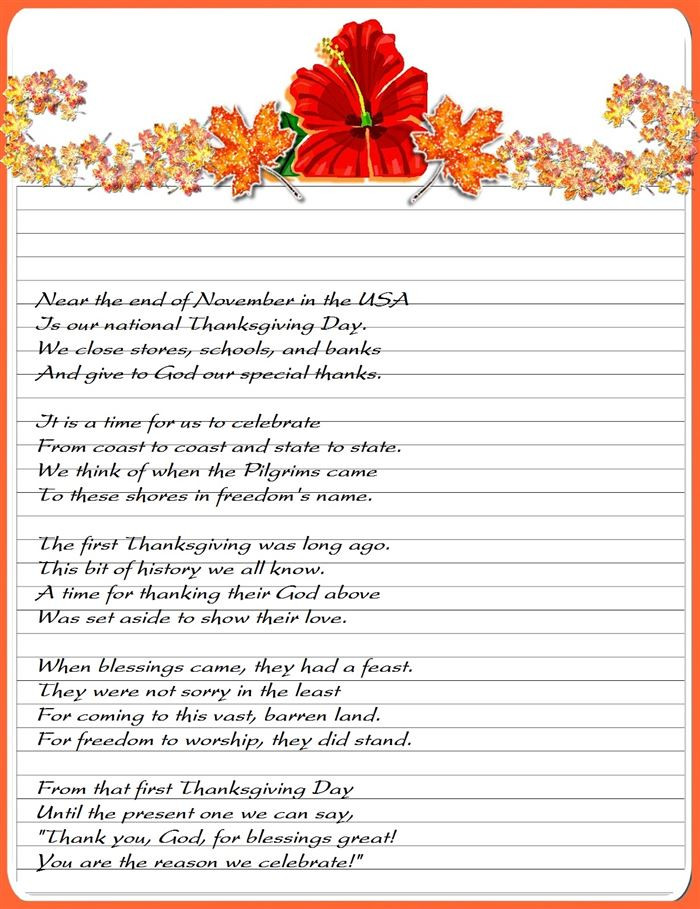 Thanksgiving Poems And Quotes  Religious Thanksgiving Poems And Quotes QuotesGram