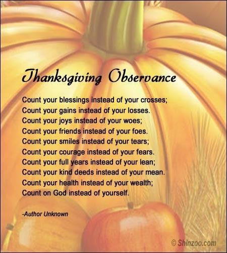 Thanksgiving Poems And Quotes  thanksgiving poems for kids christian