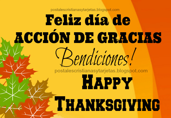 Thanksgiving Quotes In Spanish  How do you say Happy Thanksgiving in Spanish and other